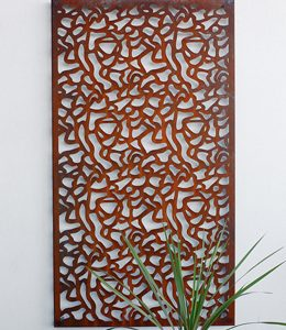 Corten decoratie 'Panter'