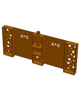 A + Concepts tuinhaard HHPC1