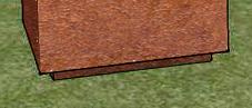 Cortenstaal plantenbak | A+Concepts