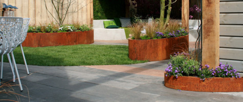 Ovale plantenbak | A+Concepts