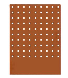 A + Concepts Cortenstaal Schutting deel 'Blok'