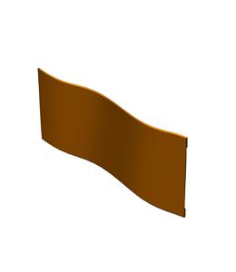 A + Concepts H20 | Buigbare Borderrand | L405 cm