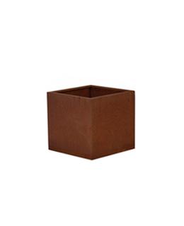 A + Concepts Cortenstalen Plantenbak 30x30x33