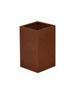 A + Concepts Cortenstalen Plantenbak 30x30x85
