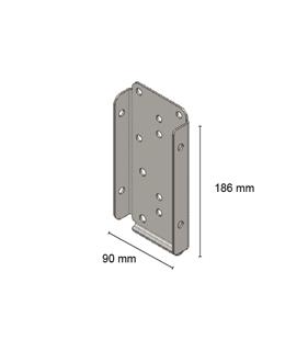 TT Adapter verticaal 90º | A+Concepts