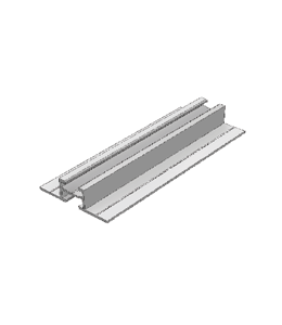 TT Extrusie profiel 60x16