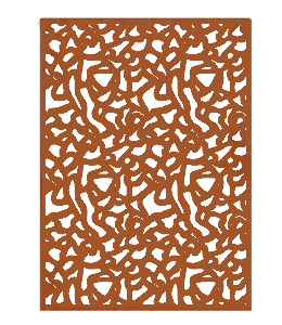 Corten Schutting 'Panter'