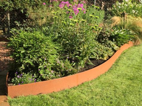 Geef je tuin een warme uitstraling met cortenstaal