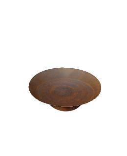 Cortenstalen Vuurschaal (Ø60cm+ring)