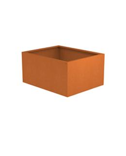 Cortenstalen plantenbak | bloembak | borderbak van A+Concepts