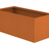 Borderbak / Plantenbak in cortenstaal - 98 x 48,5 x 38 cm