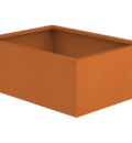 Borderbak / Plantenbak in cortenstaal - 98 x 73 x 38 cm